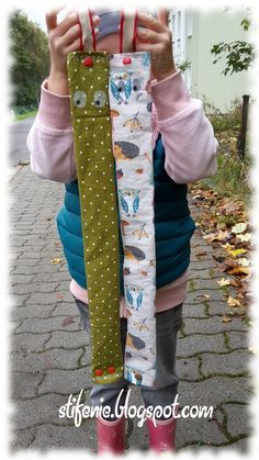 Yes, this is another sewing project to my taste. Cute, quick and . - Yes, this is another sewing project to my taste. Cute, quick and so practical. Easy Kids Sewing Projects, Sewing Machine Projects, Sewing Projects For Beginners, Sewing For Kids, Sewing Art, Sewing Toys, Love Sewing, Sewing Crafts, Crochet Stitches Free