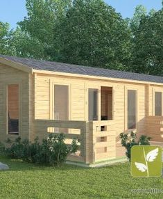 "Micro Log Cabin x ""Faversham"" Window Sizes, Tiny House Cabin, Little Cabin, Roofing Materials, Interior Walls, Logs, Windows And Doors, Shed, Wire"