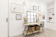 proyecto de R Diseño Interiorismo pisos pequeños madrid muebles de diseño mini pisos hogares de nuestros lectores estilo escandinavo madrid diseño nórdico decoración interiores pequeños decoración en blanco blog decoración nórdica