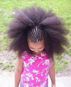 natural hairstyle - cute little girl (:
