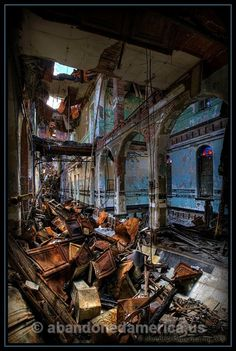 algonquin river state hospital - photographs by matthew christopher murray of abandoned america