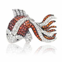 Koi jewelry (too frou frou for me, but I think it is an interesting looking piece. Kinda like it)