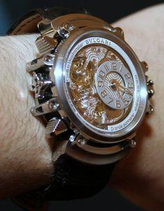 Bulgari Magsonic Grande Sonnerie Tourbillon Watch Hands On bvlgari $1mm