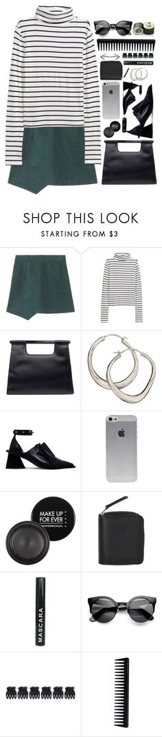 """""""Untitled #197"""" by lucky-luci ❤ liked on Polyvore featuring H&M, Chanel, Dinny Hall, Marques'Almeida, MAKE UP FOR EVER, Monki, Accessorize and GHD"""