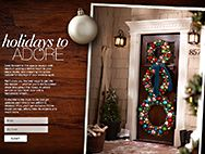 LOVE this wreath!!!  Holiday Design Ideas, Festive Fall decor Ideas at The Home Depot