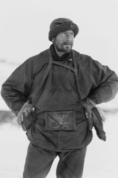 Dr. Edward Wilson artist and naturalist attached to Capt. Scott's Terra Nova expedition