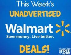 This Week's Unadvertised Walmart Deals!  http://feeds.feedblitz.com/~/115296647/0/groceryshopforfreeatthemart~This-Weeks-Unadvertised-Walmart-Deals/