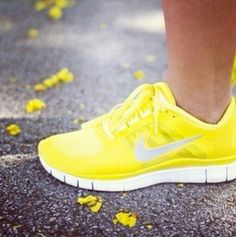 Nike Free Runs for Women. Love the color but I'd never wear them, they'd get too dirty too fast!