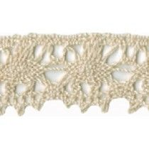1 1/8'' Natural Cotton Cluny Lace Lace Trim, Sewing Projects, Natural, Cotton, Nature, Lace Overlay, Au Natural