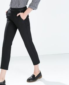 ZARA - WOMAN - COMBINED TECHNICAL TROUSERS