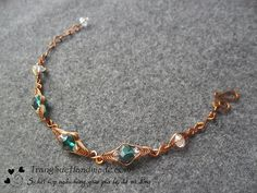 Simple bracelet for beginners - Handmade Jewelry Ideas 94