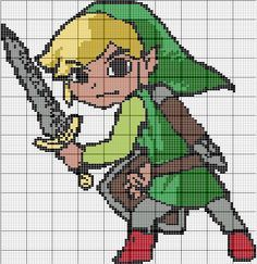 How I wish I had the time and patience for this perler bead pattern