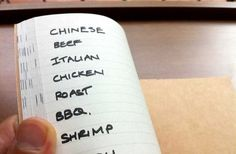 A little known hack from Japan to get your notebook organized  - Good for business, recipes, gardening, etc.