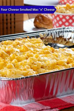 You'll be blown away by the smoky, cheesy flavors in this Four Cheese Smoked Mac 'n' Cheese. If you've never made macaroni and cheese in a smoker, you're in for a real treat!