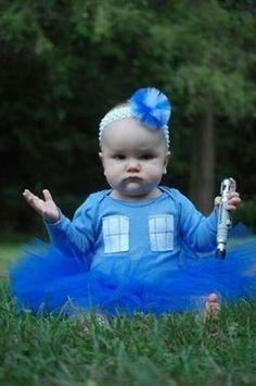 Tardis baby girl