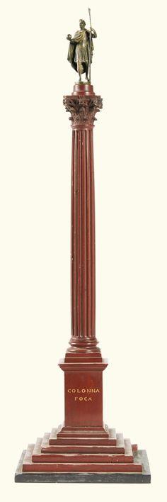 Fine Pair of Grand Tour Rosso Antico Marble Trajuns Columns Fine pair of Grand Tour Rosso Antico marble Trajuns columns Italy circa 1820 Grand Tour, Tabletop Accessories, Granite Stone, Objet D'art, Sculpture, Black Marble, Candlesticks, 19th Century, Antiques