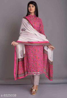 Dupatta Sets Women Kurti And palazzo With Dupatta  Kurta Fabric: Cotton Bottomwear Fabric: Cotton Fabric: Cotton Sleeve Length: Three-Quarter Sleeves Set Type: Kurta With Dupatta And Bottomwear Bottom Type: Pants Pattern: Printed Sizes: M (Bust Size: 38 in Kurta Length Size: 44 in Bottom Hip Size: 28 in Bottom Length Size: 37 in Duppatta Length Size: 2.05 m) Country of Origin: India Sizes Available: M, L, XL, XXL   Catalog Rating: ★3.9 (430)  Catalog Name: Women Cotton  Printed Pants Dupatta Set CatalogID_1629871 C74-SC1853 Code: 486-9325038-0051