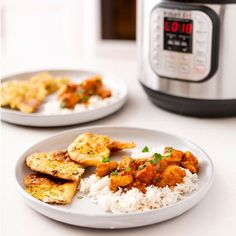 Instant Pot Indian Butter Chicken Can Be Yours in Less Than 30 Minutes — Brit + Co Teriyaki Chicken, Chicken Curry, Chicken Makhani, Instant Pot Butter Chicken Recipe, Indian Butter Chicken, Multi Cooker Recipes, Pressure Cooker Recipes, Slow Cooker, Pressure Cooking