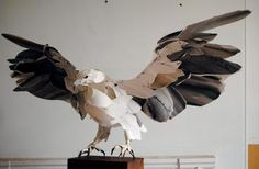 Highfield takes paper sculpture to a whole other level.