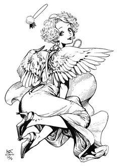 白浜鴎 (@shirahamakamome) | Twitter Manga Sexy, Art Sketches, Art Drawings, Alien Art, Character Design Inspiration, Ink Art, Traditional Art, Art Inspo, Art Reference
