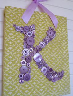 @Hollin Milakovic lets do this on our door... zebra backround pink button M and cheetah backround with pink letter H ?!