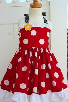 Minnie dress or apron