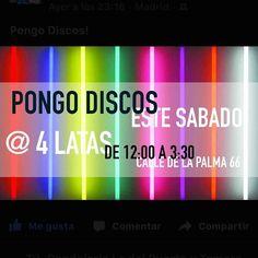 Hoy Dj Mai Mai Mai. 4Latas Bar Musical en La Palma 66 Conde Duque Malasaña hasta las 3:30. Hola!!! @4latasClub @elEstocolmo #callelapalma  #malasaña #condeduque #glögg #gintonic #cocteles #mojitos #caipirinha #bloodymary #mahou #hotdog #hotdogs #cervezasmahou #aperolspritz #Madrid #Madrizmola #Madriz #exprimemadrid #quehacerenmadrid #madridcentro #despuesdelcine #sabado #dj #baresdemadrid #bares #baresquelugares #salirpormadrid #condeduquegente by 4latasclub