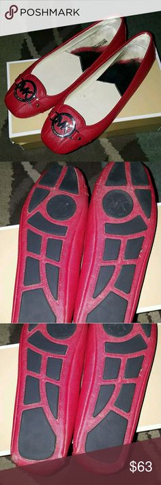 Michael Kors Fulton Flats size 8 MK Fulton style flats. Great condition. Worn twice. See pics. Michael Kors Shoes Flats & Loafers