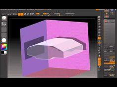 ZBrush 4 - ShadowBox and Clip Brushes