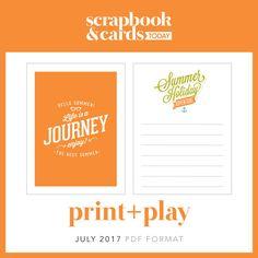 July Print + Play