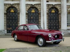 """1955 Bristol 405. This is the car David Goldman drives in """"An Education."""""""