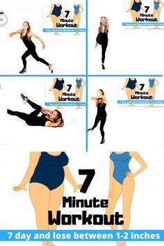 The 7 minute 7 days workout is one of the most famous and quick workout plan for weight loss. It is claimed to help you to Lose 10 Pounds in just a single Week. 7 Day Workout Plan, 7 Workout, 7 Minute Workout, Weight Loss Workout Plan, Weight Loss Challenge, Weight Loss Transformation, Workout Videos, Exercise Cardio, Weight Training