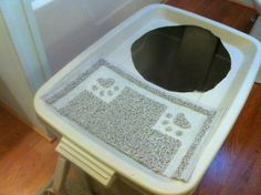 DIY Project: Top-Entry Litter Box