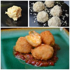 Palmetto Cheese Fritters have become our favorite recipe for parties. They're easy to make and can be served with whatever dipping sauce you like.