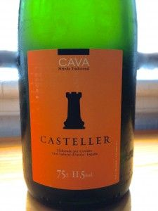 Casteller Cava is the Wine of the Week for Thursday, May 15, 2014 on www.eatsomethingsexy.com