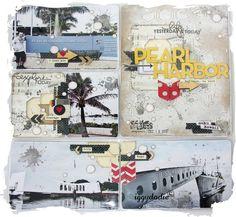 Kit Project Life de Janvier : les pages - Scrappadingue - Le scrap d Elodie Touzet iggydodie