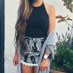 Imagen de fashion, outfit, and shorts