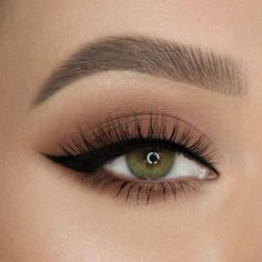 Wing it like 🖤 She pairs our Better Than Sex Eyeliner and Natu. Wing it like 🖤 She pairs our Better Than Sex Eyeliner and Natural Lust Eye Shadow Palette to get this look! Makeup Eye Looks, Eye Makeup Tips, Pretty Makeup, Skin Makeup, Makeup Inspo, Eyeshadow Makeup, Makeup Art, Beauty Makeup, Smokey Eye Makeup