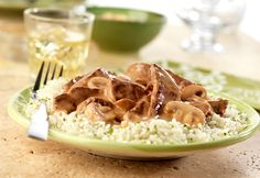 Campbell's® Beef and Mushroom Dijon Recipe Recipe Recipe, Recipe Ideas, Beef Recipes, Cooking Recipes, Diabetic Recipes, Salad Recipes, Chicken Recipes, Kitchens