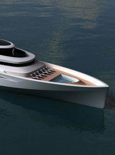 Paradigm 180 motor yacht by Pama Architetti Design _