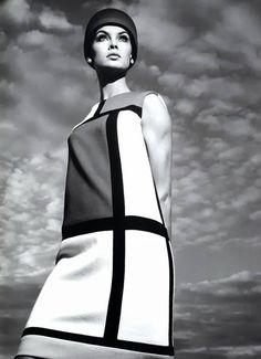 Jean Shrimpton by Richard Avedon , 1965.