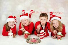 For Photographers: Photographing Christmas Card Photos Indoors
