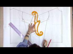 [sewingladystudio]- 옷만들기-퍼프소매 원피스(패턴) - YouTube