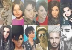 The evolution of Bill <3 lol