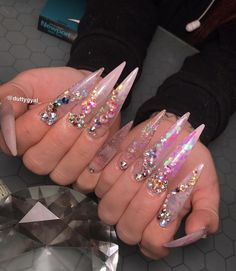 99 Best The Longest Nails Ever Yikes Images Long French Nails