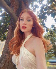 Beautiful Redhead, Beautiful Long Hair, Michelle Instagram, Avengers Girl, Long Red Hair, Ginger Girls, Redhead Girl, Ginger Hair, Female Portrait