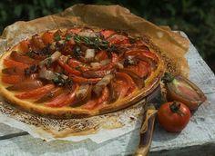 Tartes aux tomates et rillons de Touraine
