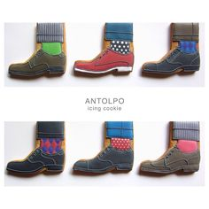 shoes cookie // antolpo