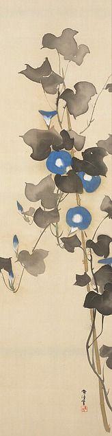 Morning Glories - Kamisaka Sekka (ca. 1920-1940). Minneapolis Institute of Art.
