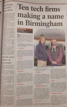 #techbrum - Ten tech firms making a name in Birmingham article